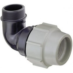 Coude 90° fil. PLASSON 7850 Ø 25 mm G 1