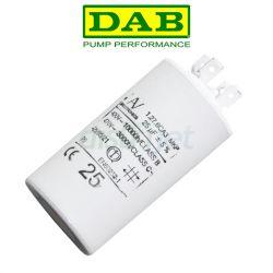 CONDO25MF Condensateur 25MF P/Co. DAB