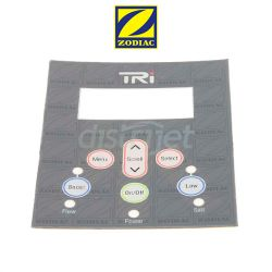 Sticker panneau de contrôle TRi