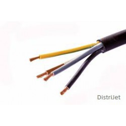 Câble TD 4 X 1mm2 LNPE, noir  25 ML