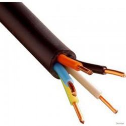 Câble TD 3 X 1mm2 LNPE, noir  25 ML