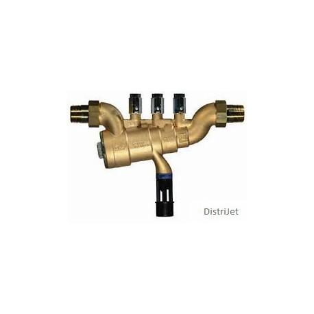 Disconnecteur en bronze, type BA à zone de pressio