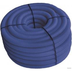 Gaine de protection bleu 40 mm avec tirfil, 25ml