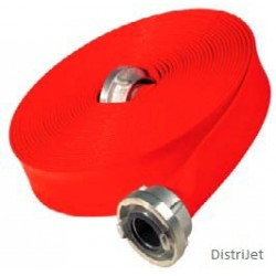 Tuyau Super T rouge , Caoutchouc EPDM 0.8 mm, Ø 25