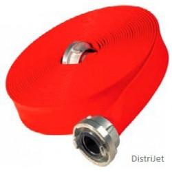 Tuyau Super T rouge ,  Caoutchouc EPDM 0.8 mm, Ø 4