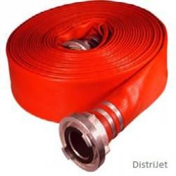 Tuyau Elasto-Tec rouge, Ø 52   mm