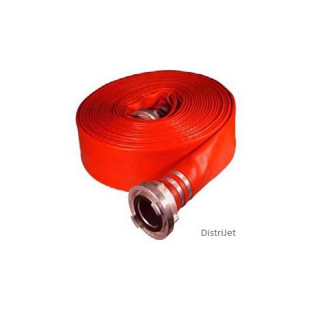 Tuyau Elasto-Tec rouge, Ø 55  mm