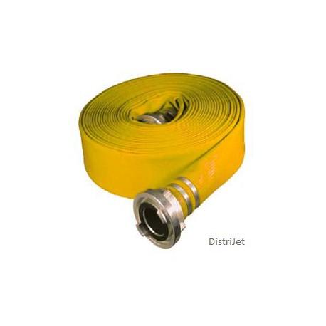 Tuyau Elasto-Tec jaune, Ø 52   mm