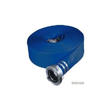 Tuyau Elasto-Tec bleu, Ø 55   mm