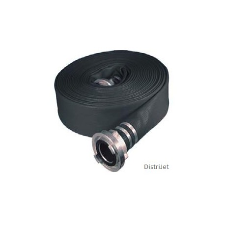 Tuyau Elasto-Tec noir, Ø 80   mm