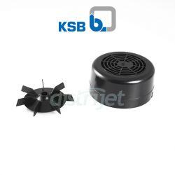 Cache et ventilateur moteur pompe Filtra N