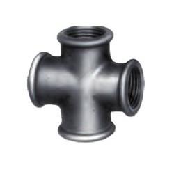 Croix F-F galva Ø 15mm G 1/2